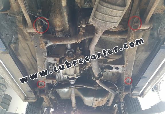 Protección del caja de cambios Suzuki Jimny